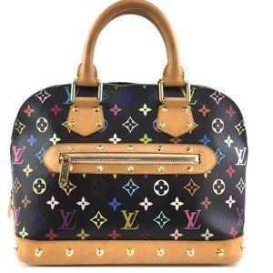 Alma  with Studs Multicolore Monogram bag